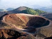 Craters Silvestri of the volcano Etna in Sicilia