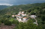 the Sariyerkoy mosque in the hamlet Kidaris, a pomak village of musulman minority in the Thrace Greece between the mounts Rodhopi at the boundaries with Bulgary
