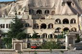 luxury caves dwellings in Urgup, Cappadocia, Turkey