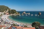 summer on the beach in Parga, Greece
