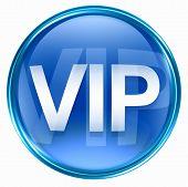 Vip Icon Blue