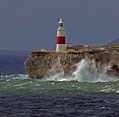 Gibraltareuropa Point Lighthouse
