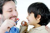 Lección cepillado de dientes