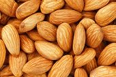 Almond. Almonds Macro. Almonds Background. Almond Nuts poster