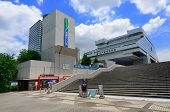 TOKYO - JULY 5: The Tokyo Edo Museum contains elements from the Edo period of Japan including a life
