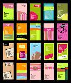 vertical business card - - eps10 format