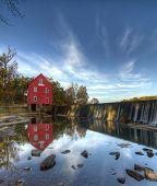 Starrs Mühle in der Nähe von Atlanta, Georgia.