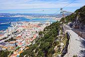 Gibraltar Cityscape