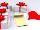 Letter And Gifts