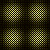 Seamless Yellow Dots on Black