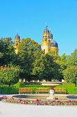 pic of munich residence  - The scenery at the Residenz and Odeonsplatz in Munich  - JPG