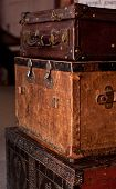Old Shabby Suitcases