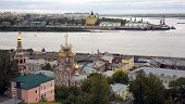 Постер, плакат: Порт зрения сентября «стрелка» Нижний Новгород