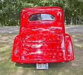 1935 Chevy Std Rear View