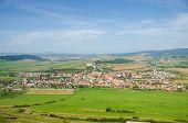 Spisske Podhradie and Spisska Kapitula, Slovakia - view from Spissky Hrad