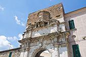 Porta romana. Amelia. Umbria. Italy.
