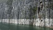Rock Formation At Yangtze River
