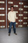 LOS ANGELES - SEP 10:  Jake Johnson arrives at the FOX Eco-Casino Party 2012 at Bookbindery on Septe
