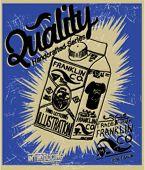 illustration sketch milk package for apparel