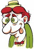 Wacky Cartoon Man
