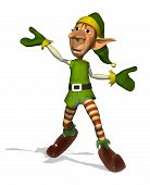 Happy Dancing Elf