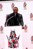 LOS ANGELES - JUN 6:  Chris Tucker at the Hand & Footprint ceremony for Jackie Chan at the TCL Chine
