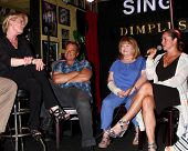 LOS ANGELES - JUN 1:  Judi Evans, Wally Kurth, Patrika Darbo, Crystal Chappell at the Judi Evans Cel