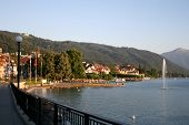 Zug Lake In Switzerland