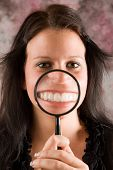 Girl Showing Her Healthy Teeth
