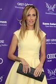 LOS ANGELES - JUN 8:  Kim Raver arrives at the 12th Annual Chrysalis Butterfly Ball at the Private R