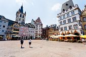 Old Market Square In Trier, Germany