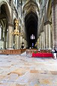 Nave Of Reims Cathedral, France