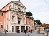Antique Mamertine Prison In Rome, Italy
