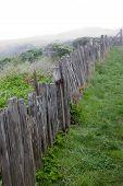 Rustic Ocean Side Fence