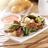 stock photo of chinese restaurant  - Chinese food  - JPG