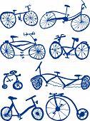 Doodle bicicletas