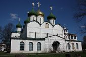 Saviour Transfiguration Cathedral in the Holy Efimiev Monastery. Russia, Suzdal.