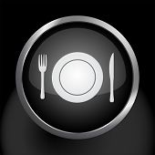 Plate Setting Food Icon