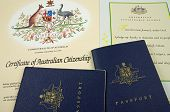 passport citizenship certificate and pledge