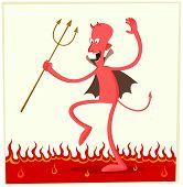 dancing satan