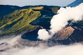 Creater Of Bromo Volcano, East Java, , Indonesia