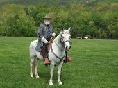 General Robert E. Lee on his Horse Traveller