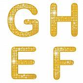 Glittering EFGH