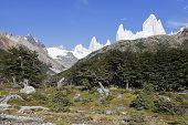 Fitz Roy Range In Argentina