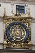 Gros Horloge, Rouen,  Seine-maritime, Haute-normandie, France