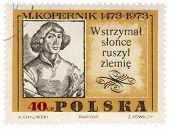 Portrait Of Polish Astronomer Nicolaus Copernicus