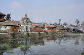 Pashupatinath Ghat in Kathmandu, Nepal
