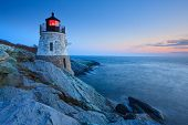 Castle Hill Lighthouse al atardecer