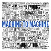 Machine to Machine (M2M) | Conceptual wallpaper