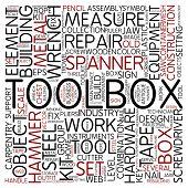 Word cloud - toolbox